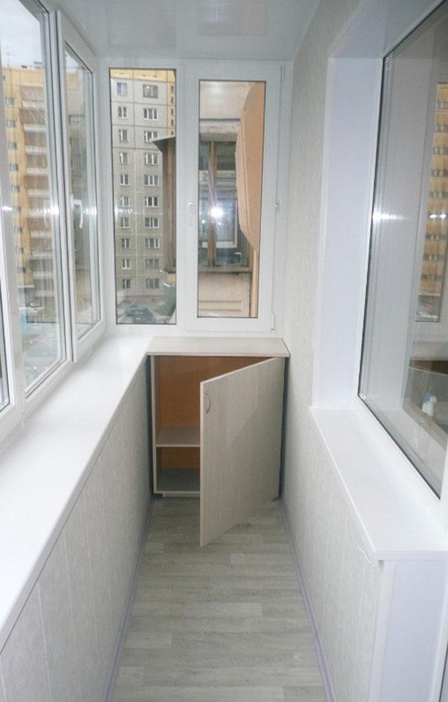 Наше портфолио: балконы и лоджии.