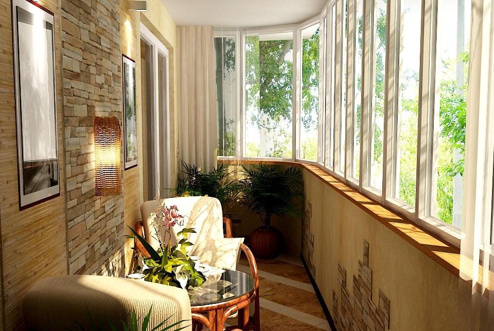 Утепление балкона дизайн